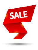 Sale paper element — Stock Vector