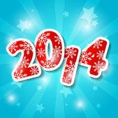 Nyårskort — Stockvektor