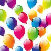 Ballons de couleur — Vecteur