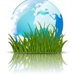 Earth globe — Stock Vector