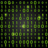 Binary code background — Stock Vector