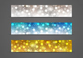 Set of horizontal banners 500 x 100 size3 — Stock Vector