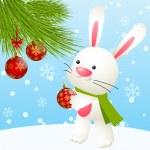 Funny rabbit — Stock Vector #37216021