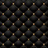 Luxury black background — Stock Vector