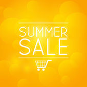Summer sale message — Cтоковый вектор