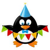 Parti pingvin — Stockvektor