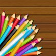 Color pencils — Stock Vector #48170127