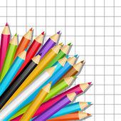 Color pencils — Stock Vector