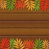 秋 leavest — ストックベクタ