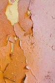 Old, flaky paint — Stock Photo