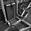 Stock Photo: Gym Exercise Equipment - Weight Selector