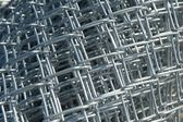 Roll of New Chain Link Fencing Material — Stock Photo