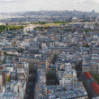 Wide panorama of Paris — Stock Photo