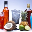 Exotic alcohol drinks — Stock Photo #12730413