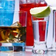 Cocktails, alcohol drinks — Stock Photo