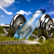 Stock Photo: Dumbbell