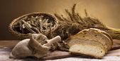 Baking goods, bread — Stock Photo