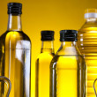 Olive oil bottle — Stock Photo