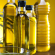Olive oil bottle — Stock Photo #14212937