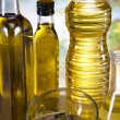 Olive oil bottle — Stock Photo #14213045