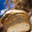 Variety of whole wheat bread — Stock Photo