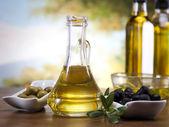 Olio d'oliva — Foto Stock