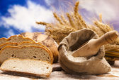 Baking goods, bread — Stock Photo