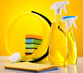 House cleaning product — Foto Stock