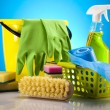 Cleaning Equipment - Foto de Stock