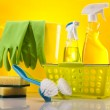 Cleaning supplies — Stock Photo #14221963