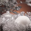 Traditional Christmas Baubles — Stock Photo #14223335