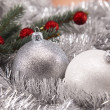 Traditional Christmas Baubles — Stock Photo #14223559