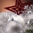 Traditional Christmas Baubles — Stock Photo