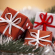 Christmas gift box — Stock Photo #14225509