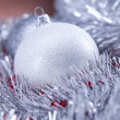Christmas background with baubles — Stock Photo #14226021