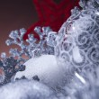 Christmas background with baubles — Stock Photo #14228793