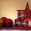 Christmas gift box - Foto Stock