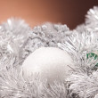 Christmas background with baubles — Stock Photo #14229119