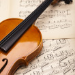 Violin background - Foto Stock
