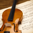 Classical violin - Stockfoto