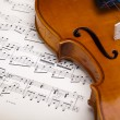 Violin background - Stockfoto