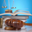 Judges wooden gavel — Stock Photo
