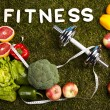 Diet and fitness — Photo
