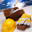 Stock Photo: Construction background