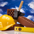 Construction background — Stock Photo #18841991