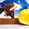 Construction background — Stock Photo