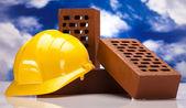 Construction background — Stock Photo