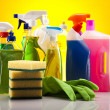 Cleaning products — Stock Photo #18853607