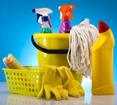 Cleaning products — Foto de Stock