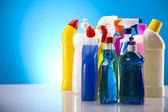 Grupp av diverse rengöring — Stockfoto